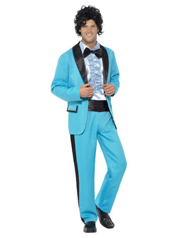 Men's 80's Prom King Costume