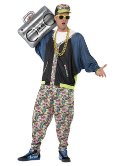 Men's 80s Hip Hop Costume - The Halloween Spot