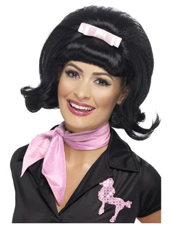 Smiffy's 50's Flicked Beehive Bob Wig