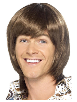 Smiffy's 70s Heartthrob Wig - The Halloween Spot