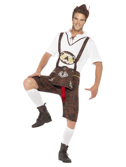 Men's Brad Wurst Costume