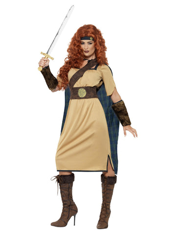 Women's Warrior Queen Deluxe Costume