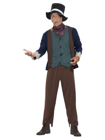 Men's Poor Victorian Man Costume