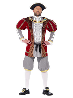 Men's Plus Size Henry VIII Deluxe Costume