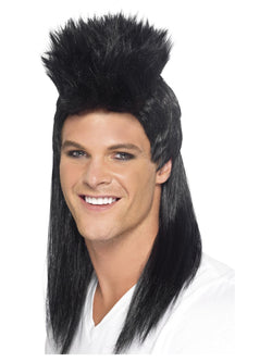 80s Rocker Mullet Wig, Long - The Halloween Spot