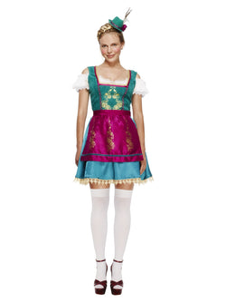 Women's Fever Deluxe Dirndl Costume - The Halloween Spot