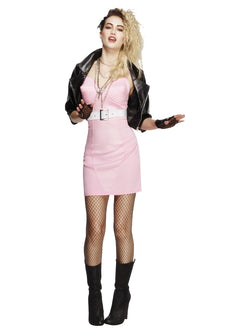 Women's Fever 80s Rocker Diva Costume