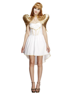 Women's Fever Glamorous Angel Costume, with Dress