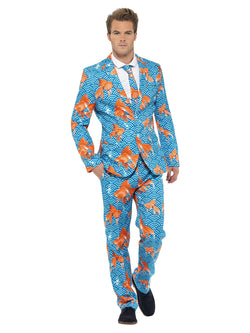Blue Goldfish Suit with Jacket