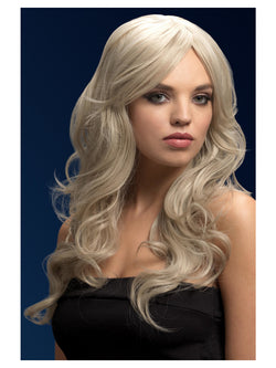 Heat Styleable Fever Nicole Wig, Silver Blonde