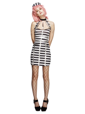 Women's Fever Night Criminal Costume