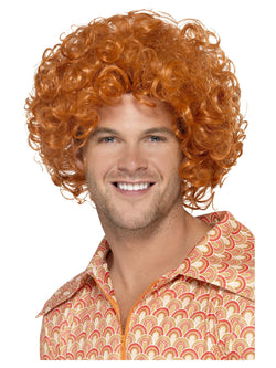 Smiffy's Curly Afro Ginger Wig