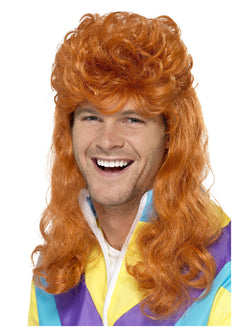 Smiffy's 80s Super Mullet Wig - The Halloween Spot