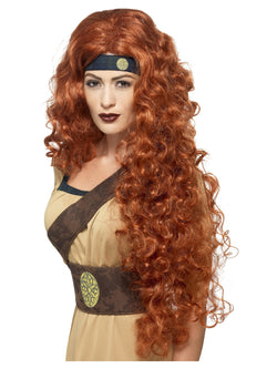 Women's Medieval Warrior Queen Wig