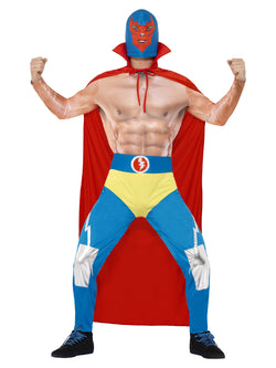 Men's Mexican Wrestler Costume