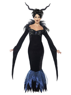 Women's Lady Raven Costume - The Halloween Spot