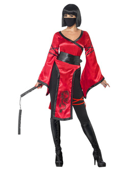 Women's Shadow Warrior Ninja Costume