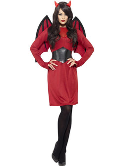 Women's Economy Devil Costume Set