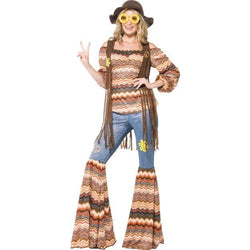 Multi-coloured Harmony Hippie Costume