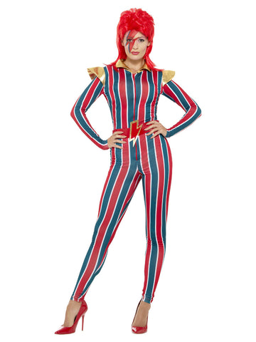 Multicoloured Miss Space Superstar Costume
