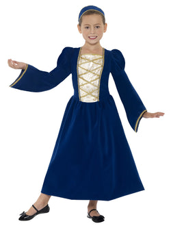 Girl's Tudor Princess Girl Costume - The Halloween Spot