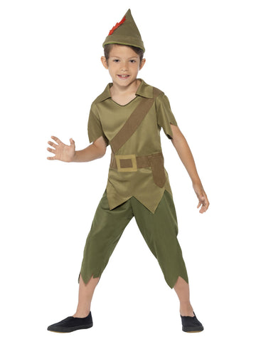 Boyu0027s Robin Hood Costume  sc 1 st  The Halloween Spot : boy robin hood costume  - Germanpascual.Com