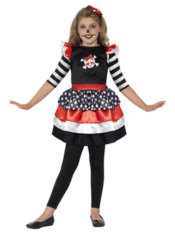 Girl's Skully Girl Costume - The Halloween Spot