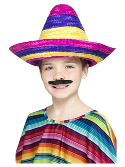 Multi-coloured Sombrero Hat