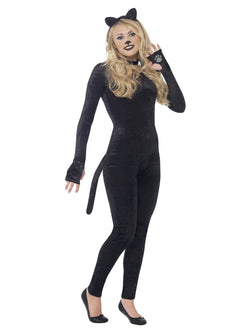 Women's Teen Size Cat Costume Set