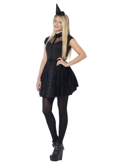 Women's Glitter Witch Costume