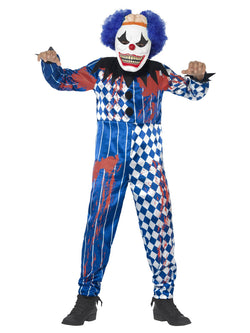 Boy's Deluxe Sinister Clown Costume - The Halloween Spot