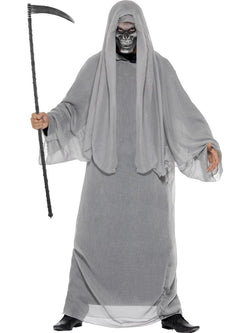 Men's Grim Reaper Costume with mask - The Halloween Spot