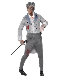 Men's Zombie Gent Costume - The Halloween Spot