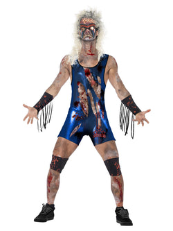 Men's Zombie Wrestler Costume - The Halloween Spot