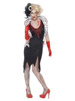 Women's Zombie Evil Madame Costume - The Halloween Spot