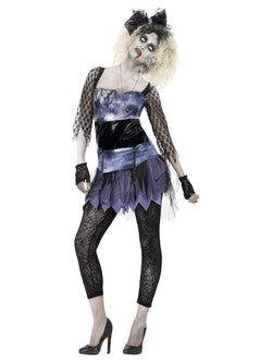 Women's Zombie 80s Wild Child Costume