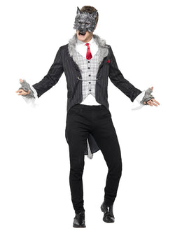 Men's Big Bad Wolf Costume, Deluxe - The Halloween Spot
