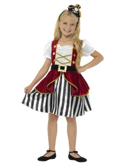 Kids Deluxe Pirate Girl Costume