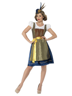 Women's Traditional Deluxe Heidi Bavarian Costume - The Halloween Spot