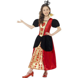 Girl's Miss Hearts Red Coloured Costume