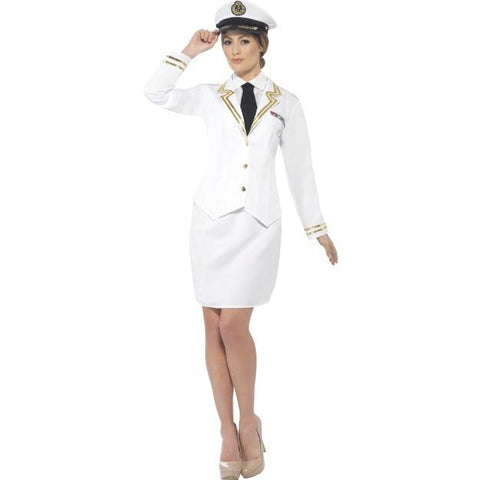 Women's Naval Officer Costume