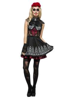 Women's Fever Day of the Dead Costume