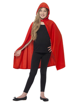 Girl's Hooded Cape