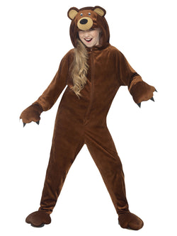 Unisex kids size brown Bear Costume