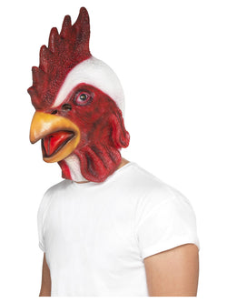 White coloured Chicken Mask