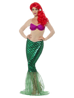 Deluxe Sexy Green Mermaid Costume