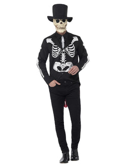 Men's Day of the Dead Senor Skeleton Costume - The Halloween Spot