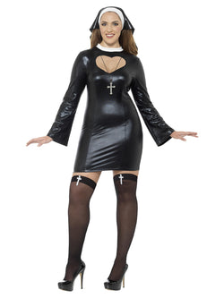 Plus Size Nun Costume - The Halloween Spot