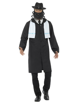 Black coloured Rabbi Costume