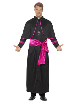 Black Cardinal Costume with robe